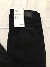 Garage Jeans Jeggings Size 00 Low Rise Black Ultra Fitted Leg Stretch NWT