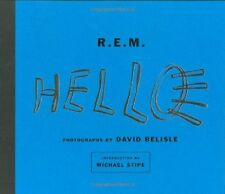 Book - Celebrity - R. E. M. Hello - Photohgraph by David Belisle  -Michael Stipe
