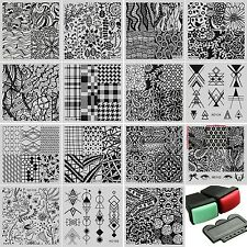 NICOLE DIARY Nail art Stamping plate Set of 15 original plates.ND-101 to ND-115.