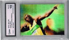 2012 Usain Bolt Sprinter Art Rookie Phenom   of 25 Gem Mint 10