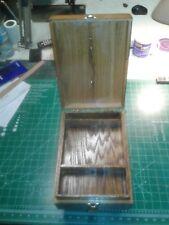 Wood cash box