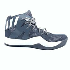 Adidas Mens Crazy Bounce Basketball Shoes Gray Low Top Sneakers B72765 12.5 New