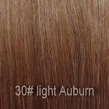 45.7cm remy clip natural extensions half head 6 pieces-All Colours