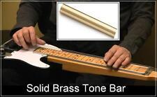USA MADE GuitarTechs SOLID BRASS TONE BAR for Steel Guitar Pedal Lap Slide