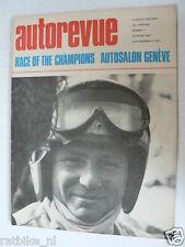 AUTOREVUE 1969-07,BRUCE MACLAREN,OPEL GT ADD,RACE CHAMPIONS,DATSUN 1300,GENEVE