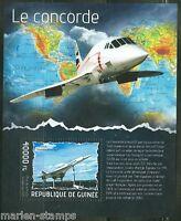 GUINEA 2014 THE CONCORDE SOUVENIR SHEET  MINT NH