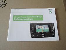 Skoda Amundsen + Navi manual de instrucciones en alemán