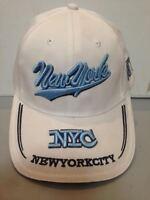CAPPELLO NEW YORK CITY BIANCO VISIERA CAPPELLINO HAT
