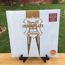 MADONNA Immaculate Collection 2 LP VINYL BLUE & GOLD COLORED New SEALED BAM EXCL