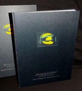 DRIVING TO PERFECTION AYRTON SENNA DA SILVA HARDBACK SLIPCASED BOOK