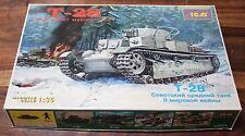 ICM 1/35 WWII Russian T-28 Multi Turret Medium Tank #35031