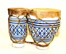 Wholesale Lot 5 x Moroccan Bongos Authentic Handmade Drum Nice Gift Percussion
