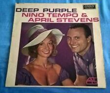 NINO TEMPO & APRIL STEVENS, DEEP PURPLE, 1964 LONDON LABEL, POP, EX, SLEEVE EX.