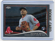 Mookie Betts 2014 Topps Chrome Rookie Card #mb-46    qty
