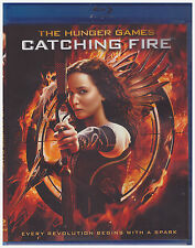 HUNGER GAMES CATCHING FIRE (Blu-ray,2013)