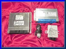 BMW E39 5'ies 3.0d M57 Set Motore Diesel DDE ECU Modulo Di Controllo Egs EWS SERRATURA CHIAVE