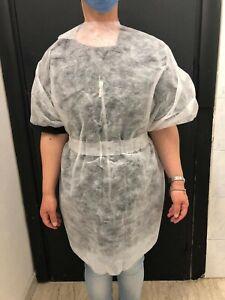 Kimono / mantella Pz 50 monouso    aperto dietro.Adatto per estetica parrucchie