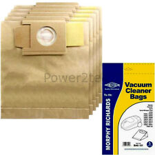 5 x 01, 87 Dust Bags for Morphy Richards 2000W Varia Whisper Plus Vinto 1200