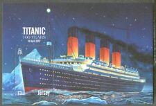 Jersey-Titanic Ship mnh min sheet-2012