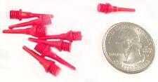 250 Red Micro Short Soft Dart Tips 2ba Tufflex Strong Point Plastic Wholesale