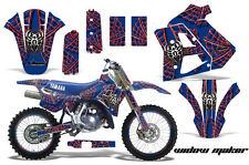 YAMAHA WR 250Z Graphic Kit AMR Racing # Plates Decal Sticker Part 91-93 WMRB