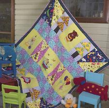 Dino & Friends - Children's Patchwork Quilt Pattern