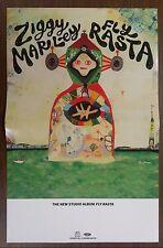 Music Poster Promo Ziggy Marley ~ Fly Rasta