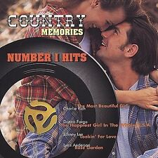 #1 Hits: Country Memories Various Artists CD Apr-2007 Number 1 NEW SEE DETAILS