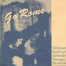 """GO ROME - Windows (RARE 1989 NEDERPOP EP 7"""" DUTCH PS)"""