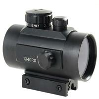 Tactical Holographic Reflex Red/Green Laser Dot Sight Scope 20mm Picatinny Rail