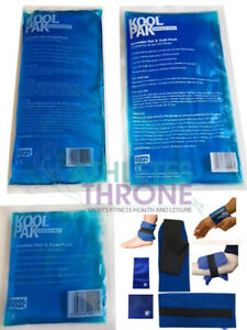 Koolpak Reusable Hot/Cold Sports Ice Gel Pack First Aid Sprains Pain Relief S-XL