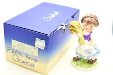 "VTG Goebel Lore's Lore Kinderland 11-290-12 ""Farm Hand"" Girl & Wheat 1978 & Box"