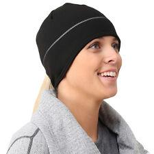 TrailHeads Women's HyperReflect Power Ponytail Hat - black/silver