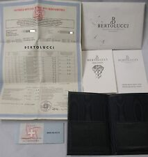 BERTOLUCCI Automatic Chronograph VIR Watch (Pulchra) Instruction, COSC, Wallet +