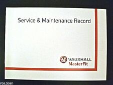 Vauxhall Insignia Service History Record Book Models Brand New Genuine No Stamps