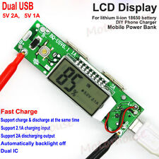 Lithium ion battery 5V 2.1A USB all-in-one boost charge iPhone capacity LCD