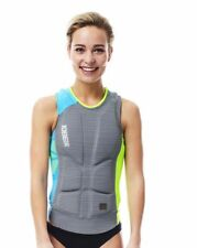 Jobe Comp Vest Women Citron Vert/Gris [Medium]
