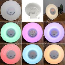 Hi-Q 7 Colors Wake-up Light Sunrise Alarm Clock LED FM Radio Bedside Night Lamp
