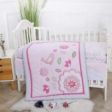 New ListingBaby Spark Chirpy The Bird 3pc Soft Cotton Crib Bedding Set