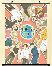 "Japan Anime Axis Power Hetalia Cosplay Home Decor Wall Poster Scroll 8""x12"" 02"