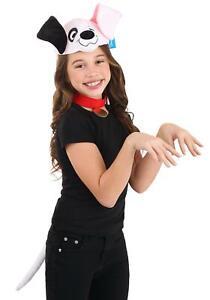 Disney 101 Dalmatians Patch Plush Headband, Collar & Tail Costume Kit