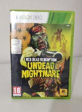 RED DEAD REDEMPTION UNDEAD NIGHTMARE XBOX 360 ITALIANO OTTIMO STATO COMPLETO
