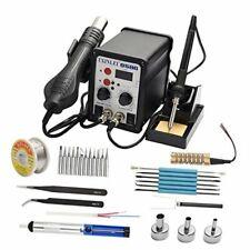 8586 110v Solder Station 2 In 1 Digital Display Smd Hot Air Rework Station