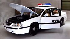 1:26 24 Echelle Chevrolet Impala Highway Police Patrouille USA Welly