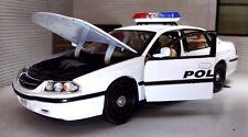 1:26 24 Scale Chevrolet Impala Highway Police Patrol USA Welly Model Car 22416