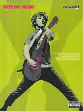 GREEN DAY Guitar Authentic Playalong Book & CD