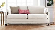 Loveseat Cute Couch Ivory Cream Living Room Bedroom Dorm Wing Chair Bench Lounge