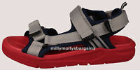New Boys Blue Red Grey NEXT Sandals Size 12 13 Kids / 1 / 4 RRP £20 - £24