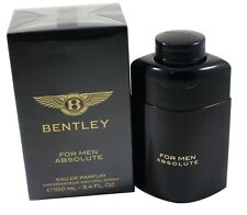 Bentley For Men Absolute By Bentley 3.4oz/100ml EDP Spray for Men New In Box