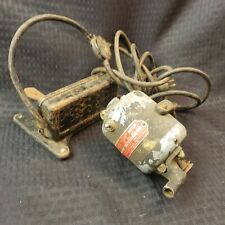 Watchmakers And Jewelers Lathe Motor By Racine 1 Amp Type 140 with Foot Pedal